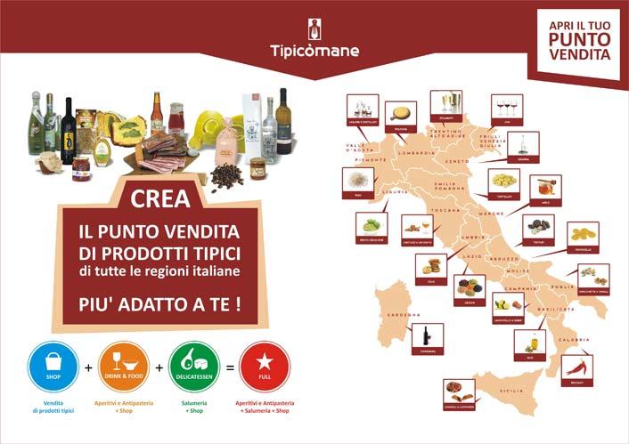 Tipic mane franchising dei prodotti tipici italiani blog for Prodotti tipici roma