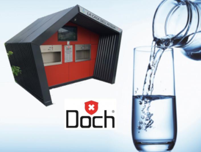 Dochpoint il franchising delle case dell'acqua