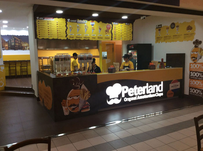 Peterland il franchising della patatina e del Take Away